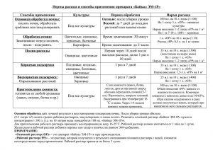 Нормы расхода и способы применения препарата «Байкал ЭМ-1Р»